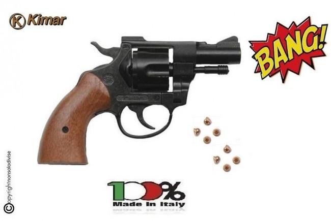 Pistola Scaccia Cani Starter Sonoro Kimar Revolver 314 a Salve Calibro 6 mm Prodotto Italiano Art. 340.002