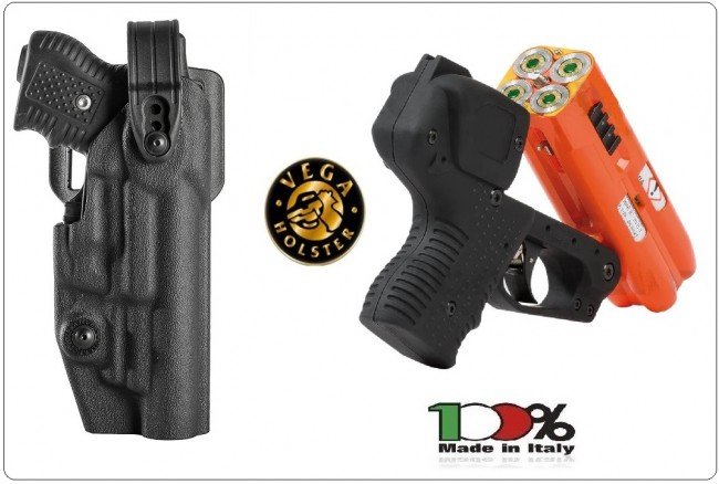 Fondina Polimero per JPX4 Nuova NO LETHAL WEAPONS HOLSTERS Art.VNL8