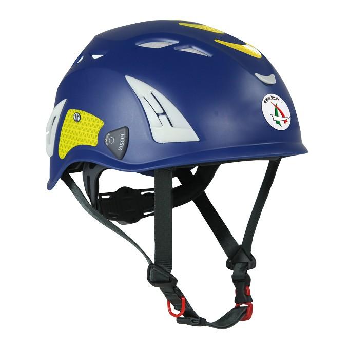 Casco Blu Protezione per Operatori di Protezione Civile PLASMA PC KASK ITALIA Art.WHE00014