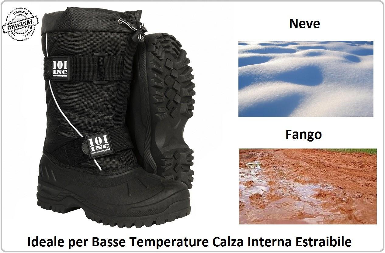 comprare on line 237a7 122bb Anfibio Stivali Scarponi Boot Dopo Sci Doposci Neve Basse ...