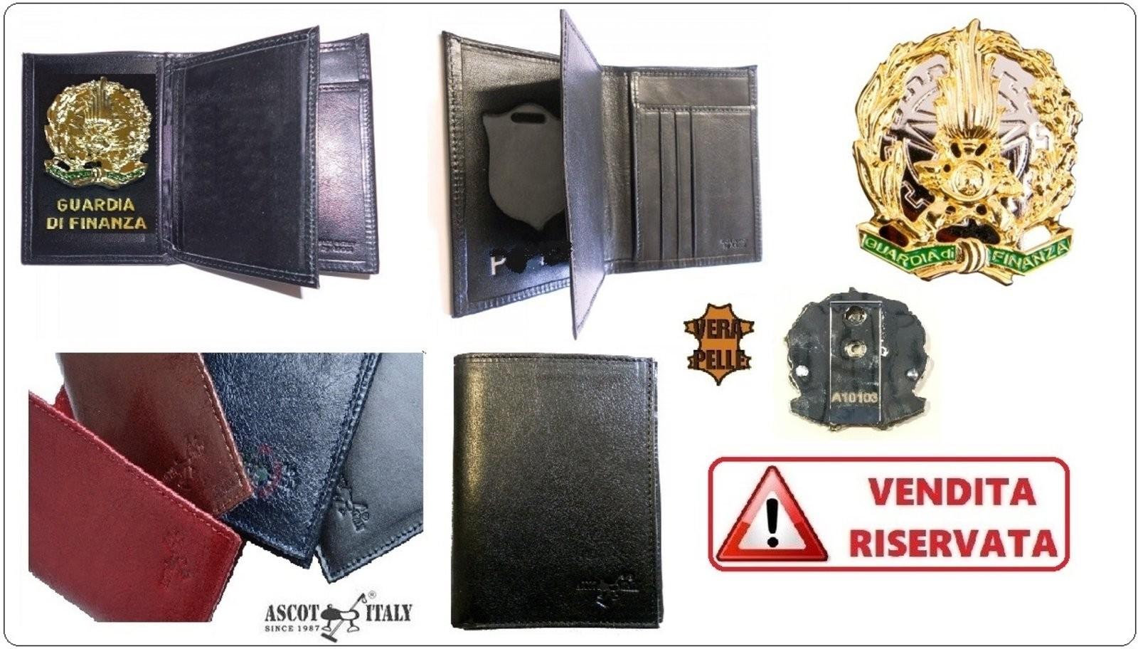 immagini ufficiali prezzo all'ingrosso autentica di fabbrica Portafoglio Pelle Portadocumenti Apertura a Libro Guardia di ...