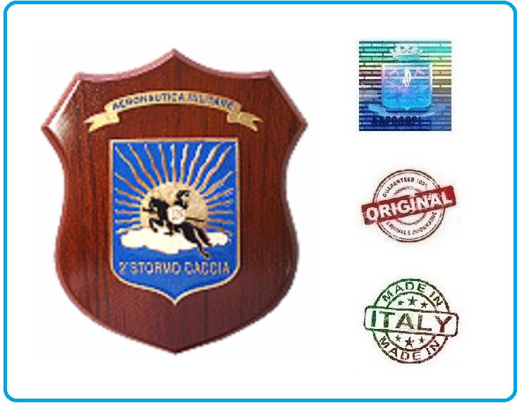 Crest Aeronautica  2° Stormo Prodotto Ufficiale Art.AM17