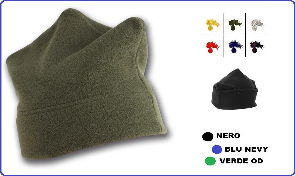 Berretto Bustina Pile 3 Punte Carabinieri Art.NSD-148 Berretto pile ... 50fbf17f9106