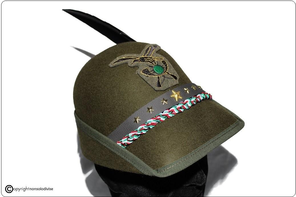 ... Cappello Alpini Congedo Congedante Prodotto Italiano Libera Vendita  Art.CONGEDO 2c7e104b0664