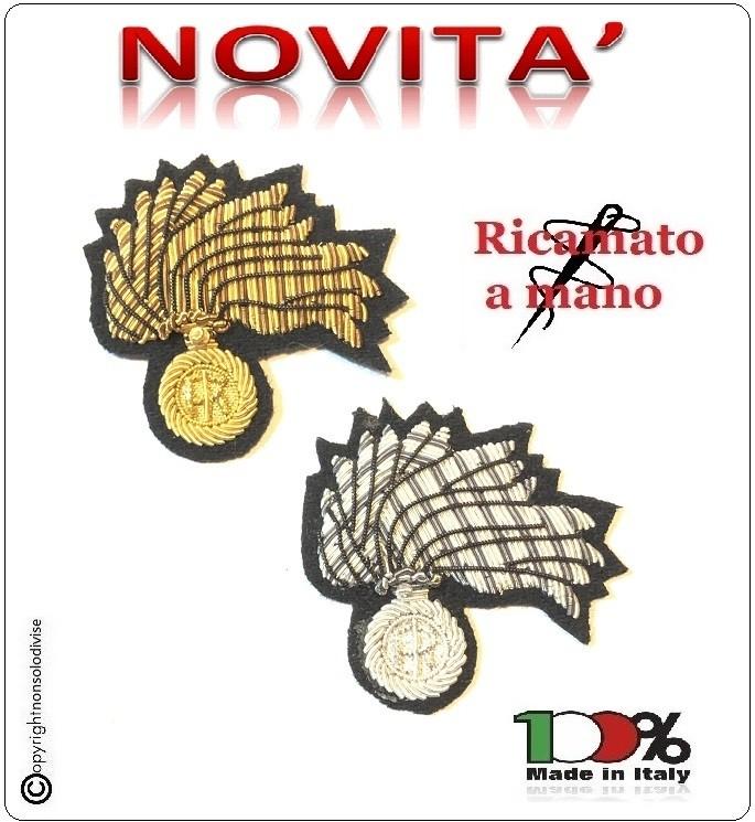 ... Basco Spagnolo Nero con Fregio Carabinieri CC Ricamato a Mano Riforma  Nuovi Gradi FAV Italia Art 97e22c03fe39