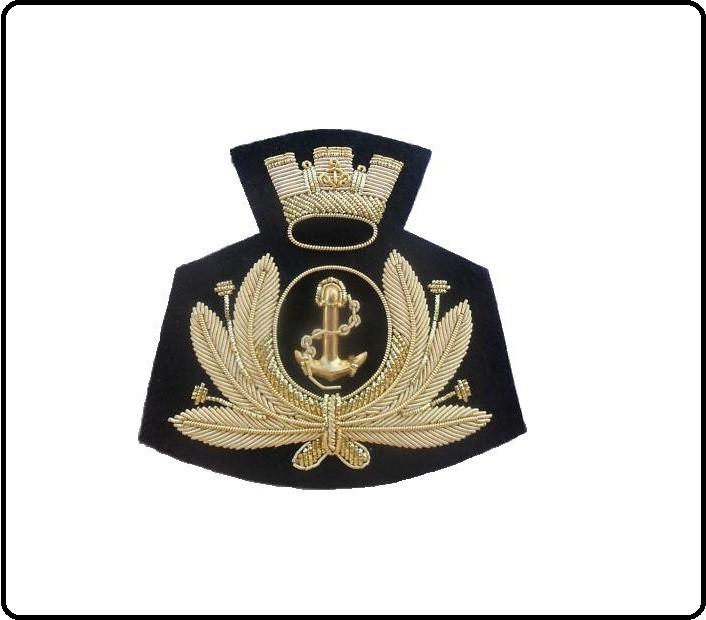 Fregio Canuttiglia Berretto Marina Militare Italiana Art.MARINA-1 547f8ee593db