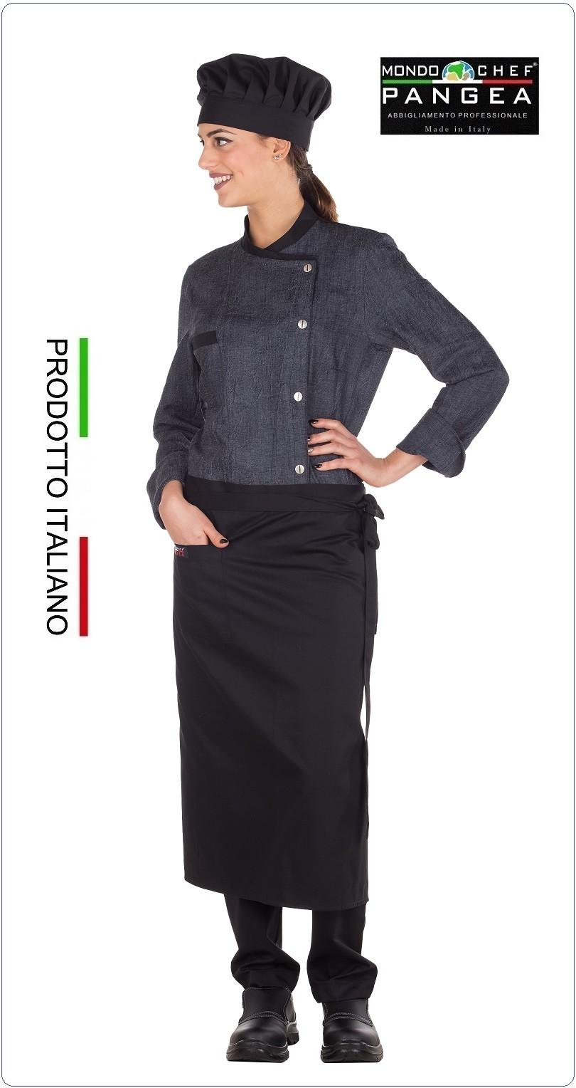 bianca e verde 100/% cotone Bandana Cuoco EGOCHEF 65/% polyestere 35/% cotone