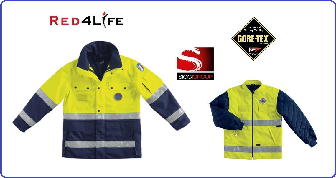 3 En343 Alta En471 Visibilita' Protezione Giaccone Classe IwB4AxFqw