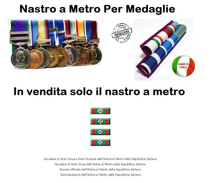 Nastro a metro cavaliere della repubblica art n cp colore - Cavaliere modello a colori ...