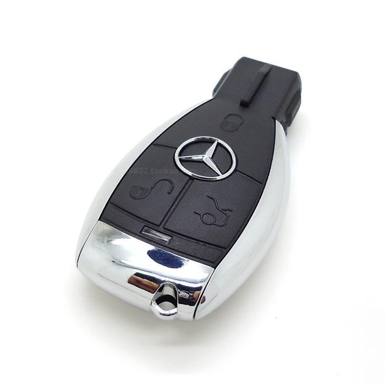 Portachiavi pen drive mercedes benz auto chiave usb flash for Mercedes benz flash drive with box