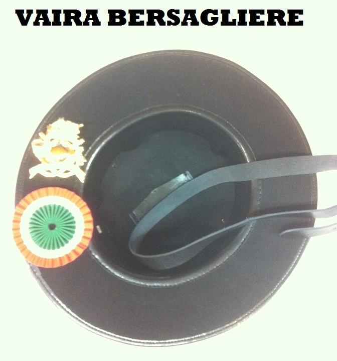 Cappello Moretto Vaira Bersaglieri con Piumetto e Fregio Made in Italy  Art.TUSCAN-B 7e4e212ca9ea