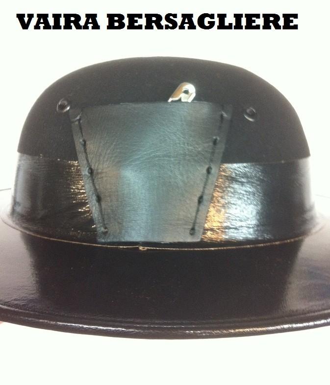 Cappello Moretto Vaira Bersaglieri con Piumetto e Fregio Made in Italy  Art.TUSCAN-B 641d07a5f4f8