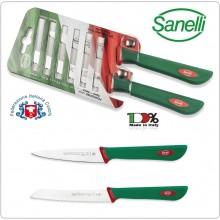 Linea Premana Professional Knife Blister Pomodoro 11 cm Spelucchino 10 cm Sanelli Italia Art. 602602