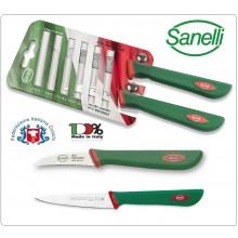 Linea Premana Professional Knife Blister Verdura 6 cm Spelucchino 10 cm Sanelli Italia Art. 600602