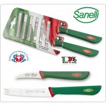Linea Premana Professional Knife Blister Verdura 6 cm Agrumi 11 cm Sanelli Italia Art.601602