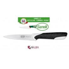 Linea Sakura Professional Knife Coltello Spelucchino Microseghettato cm 11 Sanelli Italia Cuoco Chef Art. 335511