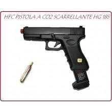 Pistola Scarrellante Co2 HFC HG 185 Soft Air 6 mm Art.JY-CO185B
