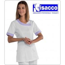 Casacca Camice DELHI Donna Estetica Medico Infermiera ISACCO Medical SHIRTS 猎装医生 Jerkin Dokter Art.005400