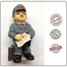 Statuina in Resina Dipinta a Mano Guardia di Finanza Maresciallo Art.Seu010 07041