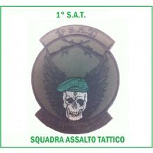 Ricamo S.A.T. Squadra Assalto Tattico Berretti Verdi Art.NSD-BV