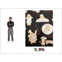 Grembiule Cucina Pettorina cm 90x70 Faccia Cuochi Colombo Mario Italia Art. 0220853