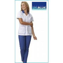 Casacca Camice Donna Professionale DIXIE Elasticizzato Dr.Blue Zaccaria Gruppo Siggi Art.04CS1408