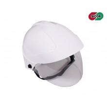 Casco Elmo Protettivo Completo di Visiera Sicor Professionale Antincendio Boschivo Soccorso Tecnico Protezione Civile EDL-01 Art.5420050321