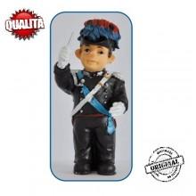 Statuina in Resina Dipinta a Mano Carabinieri Banda Musicale Direttore Art.Seu026 07041