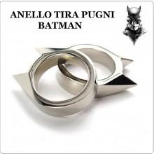 Anello Batman Tirapugni Tira Pugni Difesa Personale Acciaio Difenditi .... LIBERA VENDITA Art.ANO-1