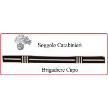 Soggolo Carabinieri Brigadiere Capo CC  Art.NSD-S-CC-3