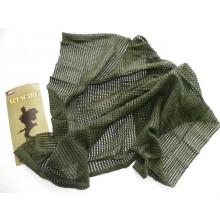 Sciarpa Rete Modello Militare Verde OD Fosco Inc 101  Art.SCIARPA