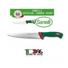 Linea Premana Professional Knife Coltello Scannare cm 22 Sanelli Italia Approvato dalla F.I.C. Federazione Italiana Cuochi Art. 106622