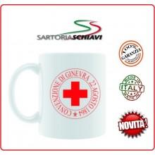 Tazza in Ceramica Mug CRI Croce Rossa Italiana  Art.TAZ-CRI