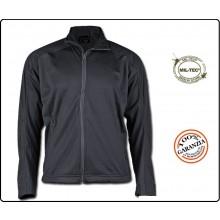 Giacca Sotto Giacca Giubbino Softshell Jacket Mil-Tec Nera Security  Vigilanza Art.10862002-904