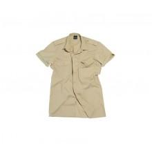 Camicia Manica Corta con Spalline Esercito Color Kaky Sabbia Esercito AEOP MilTec Art. 10932004