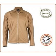 Giacca Sotto Giacca Giubbino Softshell Jacket Mil-Tec Sabbia Art.10862005
