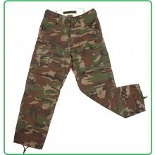 Pantaloni Cargo Elicotterista  Militari BDU Stone Washed Trousers Fostex  Woodland Art.111221