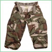 Pantaloni Bermuda Short Pantaloncini Corti per Bambino Woodland Militari Art.112214