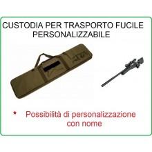 Borsone Custodia Royal Portafucile Porta Fucile Verde OD Soft Air Militare Caccia  Personalizzabile con il Nome Ricamato Art.B120V