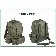 Zaino Assalto Militare 36 Litri Modulari Defense Pack con Sistema M.O.L.L.E. Verde OD Mil-Tec Art.14045001