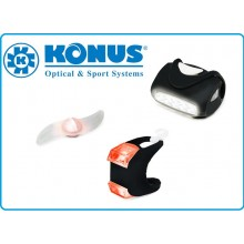 Konusbike 4-Piece Bicycle Lighting Set Luci per Biciletta Konus Art.3918