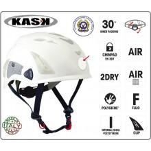 Casco Protezione Bianco PLASMA HI VIZ KASK ITALIA AEOP Art.WHE00009-AEOP