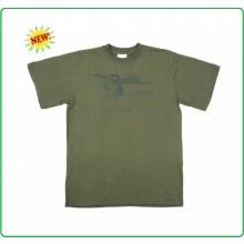 T-shirt Verde OD Dakota Piloti Americani Aviazione Aeronautica Militare Americana Art.133502