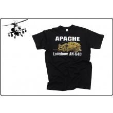 T-shirt  Maglia Maglietta Girocollo Apache Elicottero Americano US Art.133520