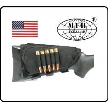 Porta Cartucce per Fucile a Pompa Verde o Nero MFH Art.30785