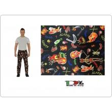 Pantalone Pants Hose Coulisse Cuoco Chef Professionale  Devil Colombo Mario Art. 1595862