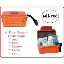 Kit Stagno Primo Soccorso Emergenza Kit Camping First Aid Militare Auto Braca Camper Art.16025714