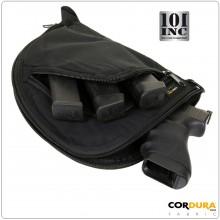 Tasca per Pistola Contractor Cordura Poligono Trasporto Arma da Viaggio Art.359943
