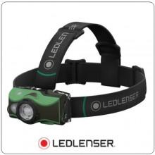 Torcia MH8 Frontale Professionale Verde 600 lm USB Ricaricabile Led Lenser Art.500951