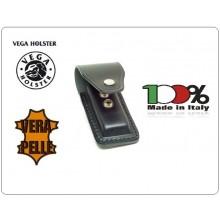 Porta Caricatore Singolo Monofilare Nero Vega Holster Italia Art.1P01